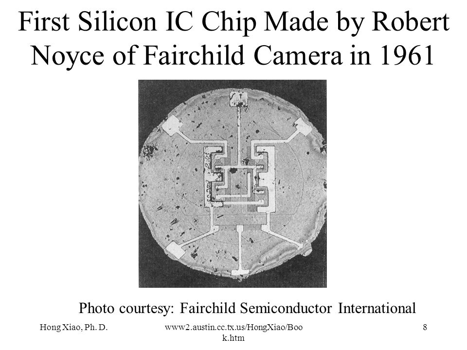 first silicon chip - photo #38