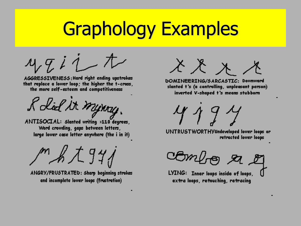 questioned documents ppt video online download With questioned document graphology