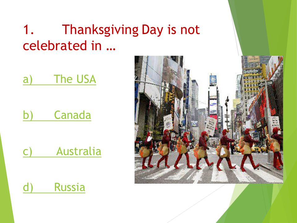 What is the date of thanksgiving in Australia