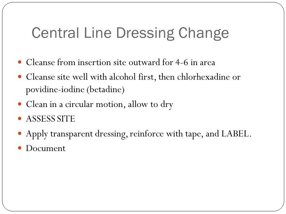 cvc dressing change video choice image