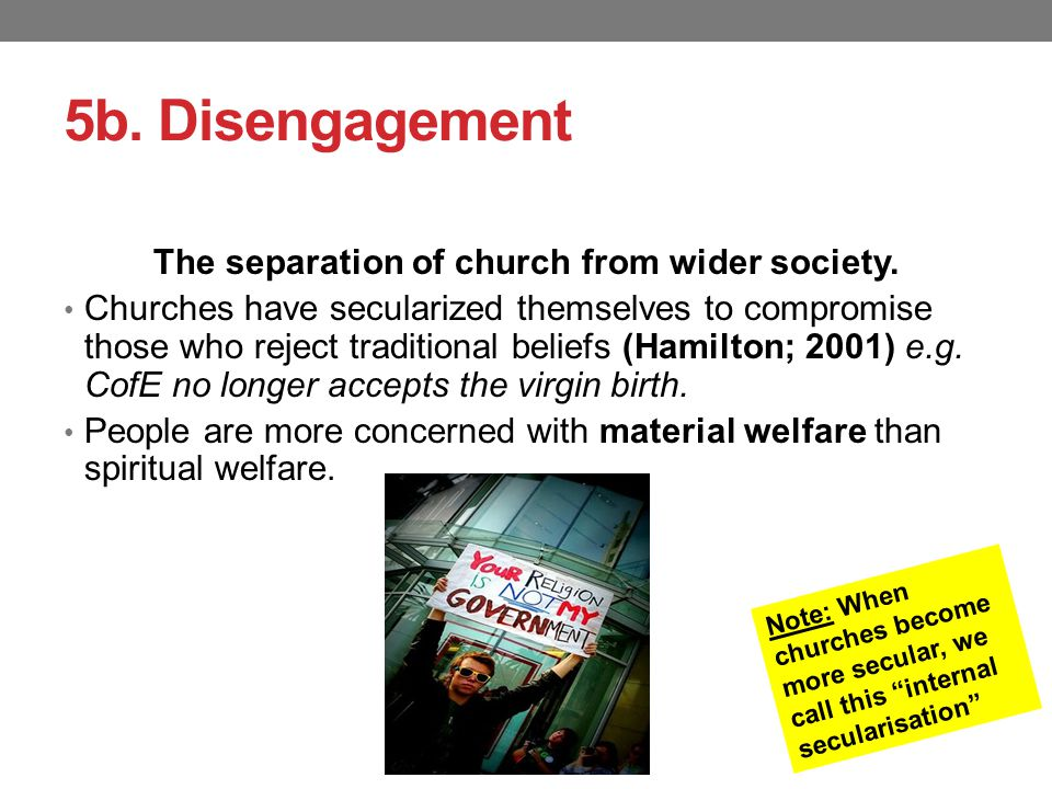 secularisation thesis weber On the one hand, there is secularization and the decline of magic on the other   scepticism about the disenchantment of the world thesis does not, however.