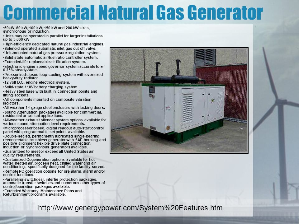 Ece 7800 renewable energy systems ppt video online download for Natural gas heating options