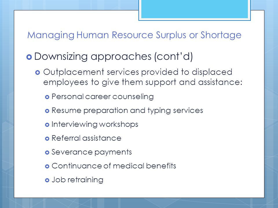 hrm incident 2 downsizing Here we are providing human resource management case studies with solutions please send to info@indiaclasscom reply marzie on october 10, 2013 at 3:41 pm.