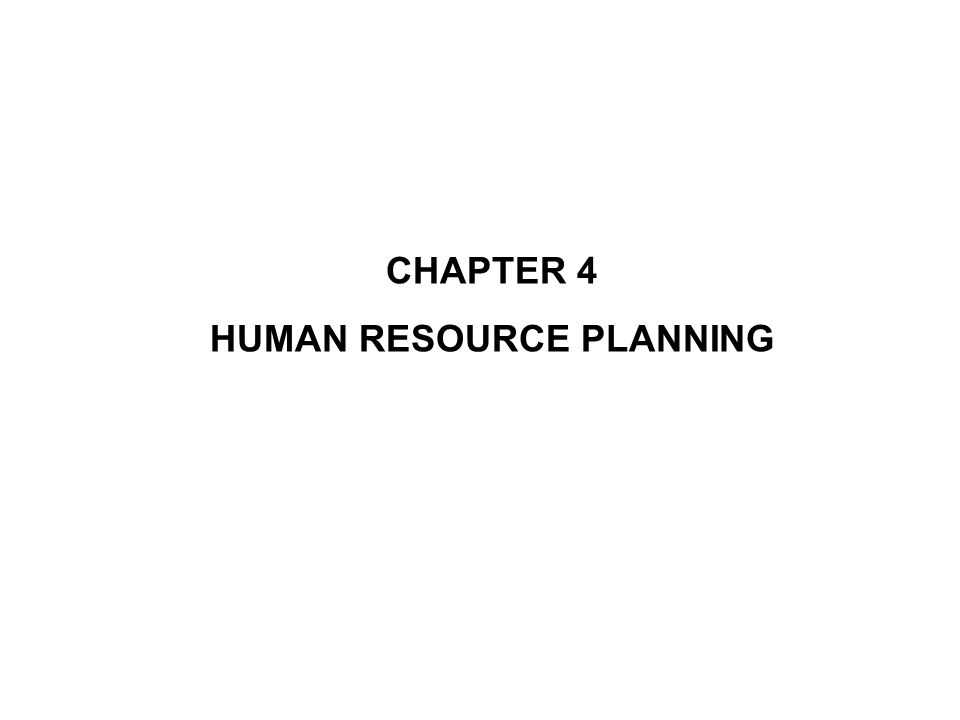 importance of human resource planning pdf