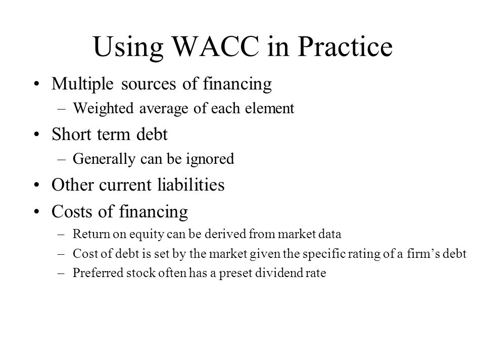 how to calculate return on debt for wacc