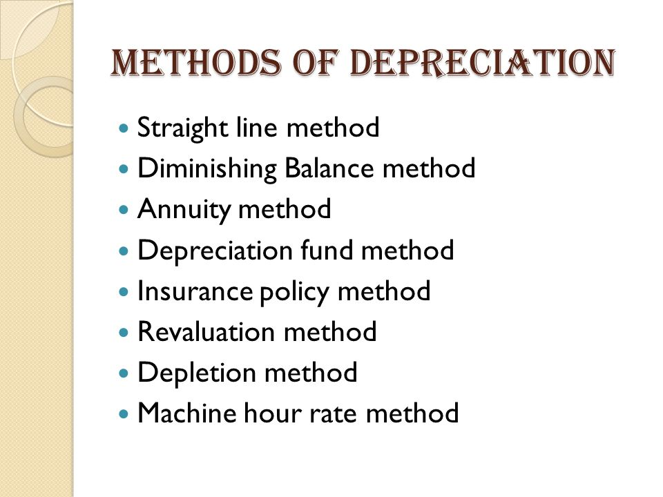maths insurance and straight line method What is the formula for depreciation rate a: quick answer in the straight line method, depreciation equals cost minus residual value divided by useful life.
