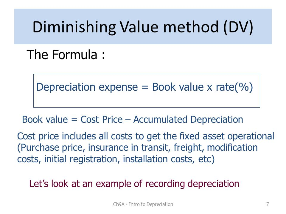 Depreciation Expense Formula & How to Calculate Straight Line ...