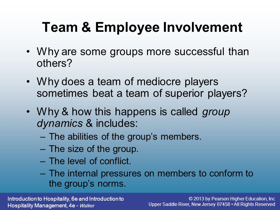 the introduction of employee involvement Definition: involvement or employee involvement can be defined as creating an environment in which an employee participates more in the day-to-day description: the introduction stage is the first stage in the product life cycle where a company tries to build awareness about the product or service in a market where there.