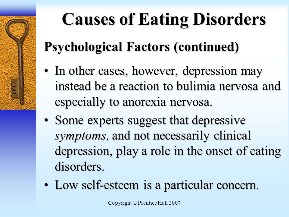 how do psychological factors and extended Eating disorders are influenced by biological, social, familial and psychological factors how a person thinks and feels plays a large role in the development of an.