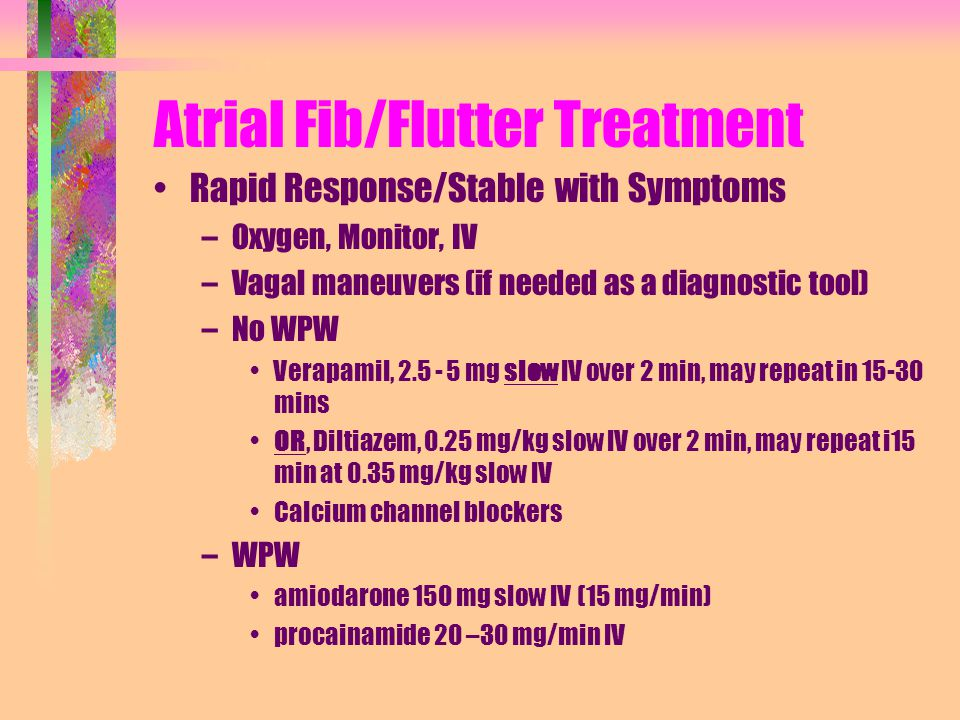 Images of Atrial Flutter Medications - #rock-cafe