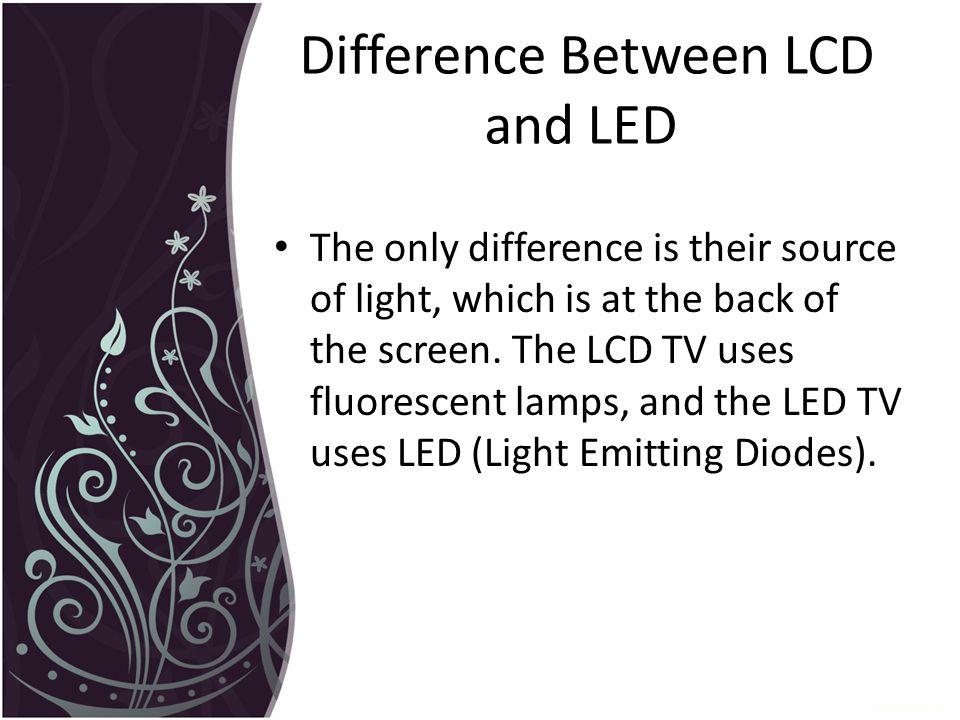 LCD v/s LED v/s OLED. - ppt download