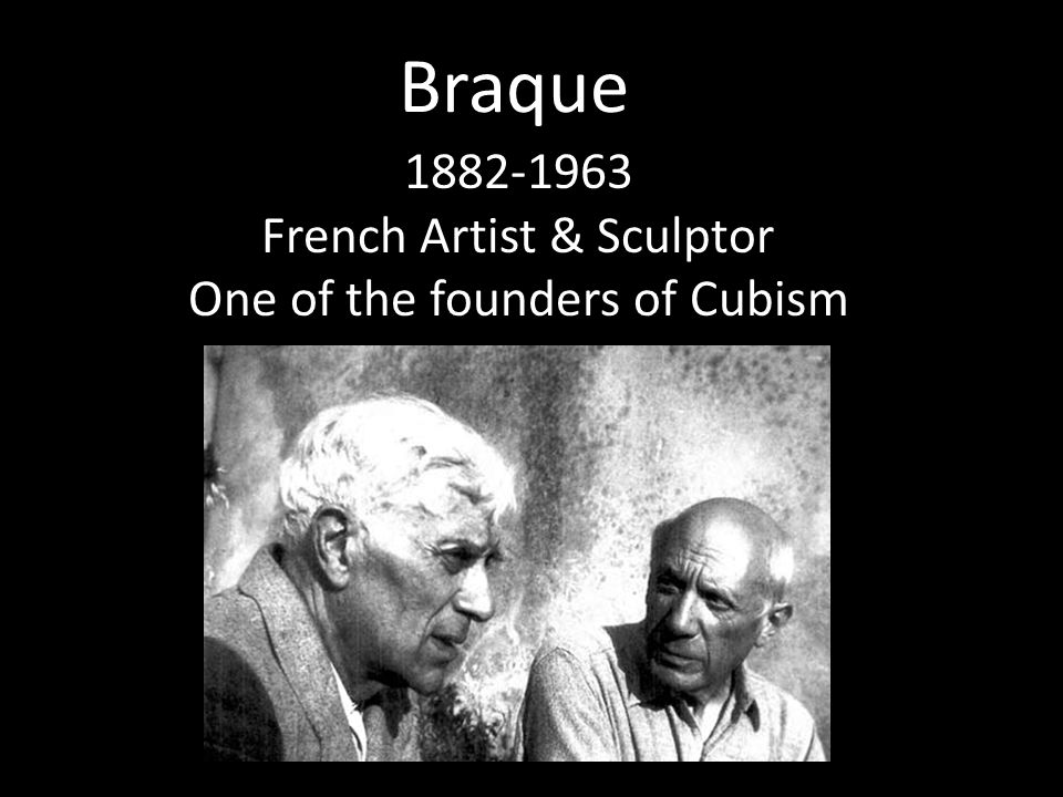 Braque French Artist & Sculptor