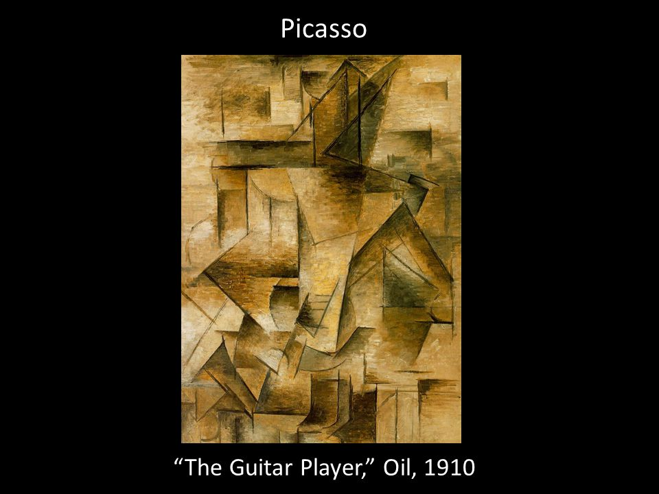 The Guitar Player, Oil, 1910