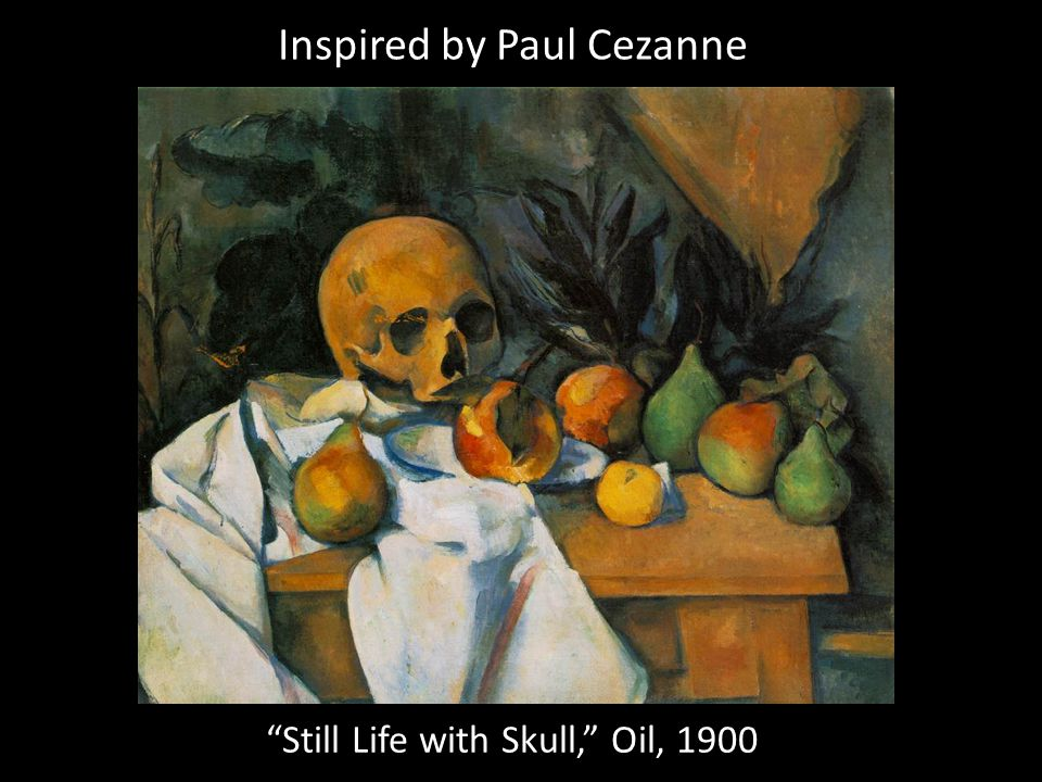 Inspired by Paul Cezanne