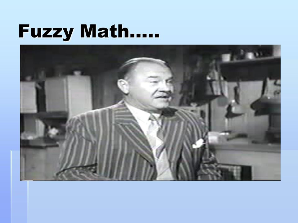 Fuzzy math and stock options