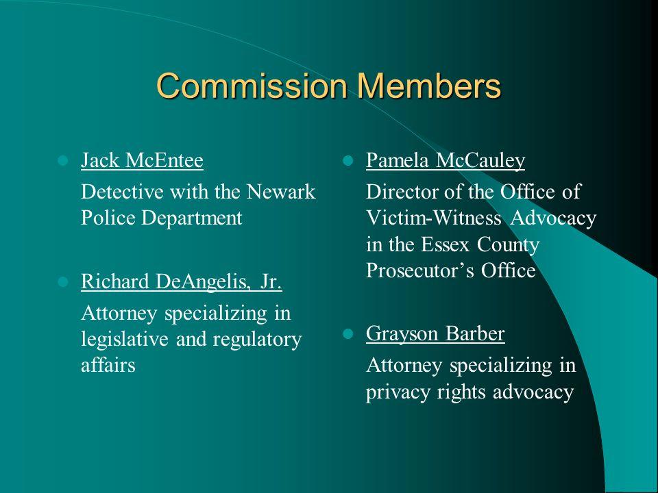 Commission Members Jack McEntee
