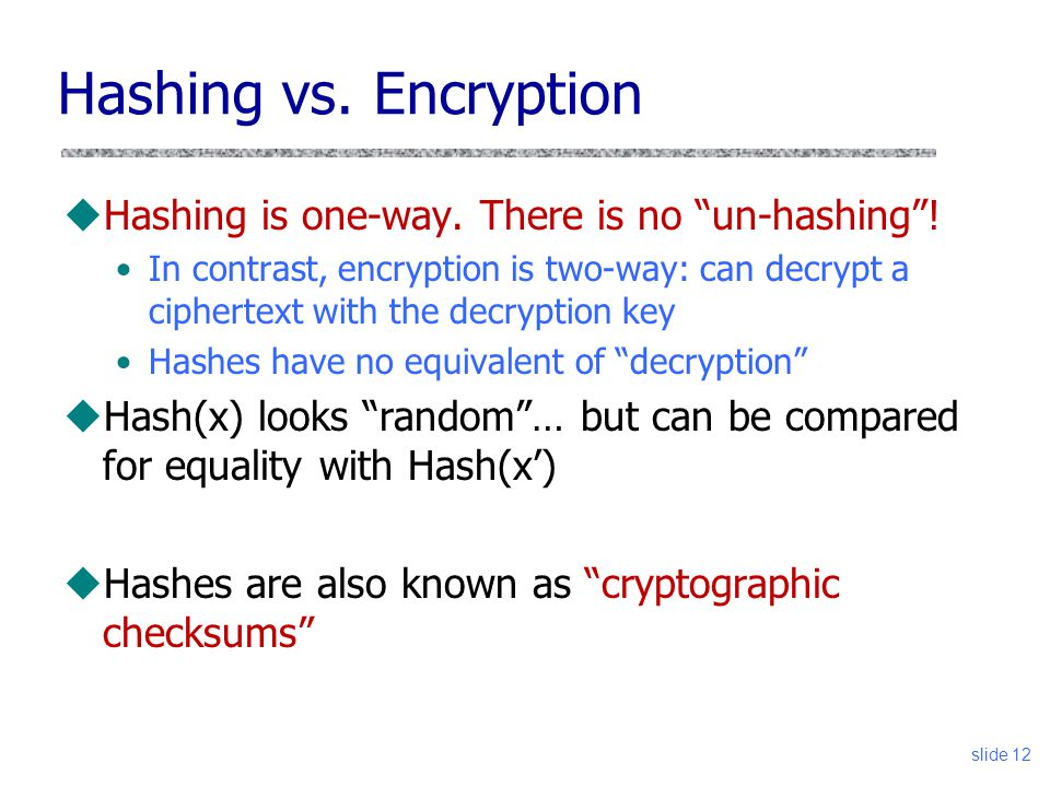 how to find the hash of a password