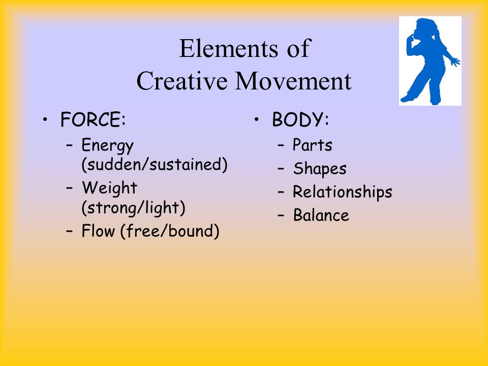 Elements Of Movement : Creative movement music ppt video online download