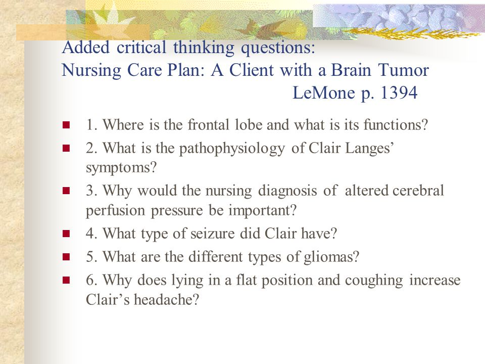 critical thinking rubric nursing Download the critical thinking value rubric at no cost via research suggests that successful critical thinkers from all disciplines increasingly need to be.