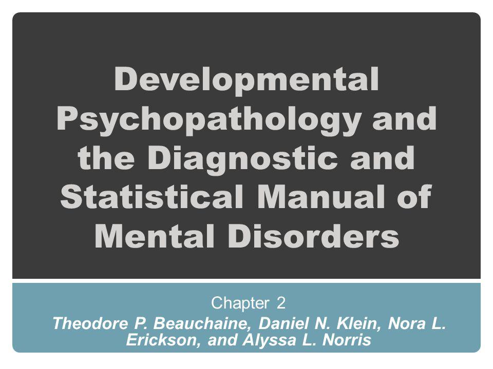 apa diagnostic and statistical manual