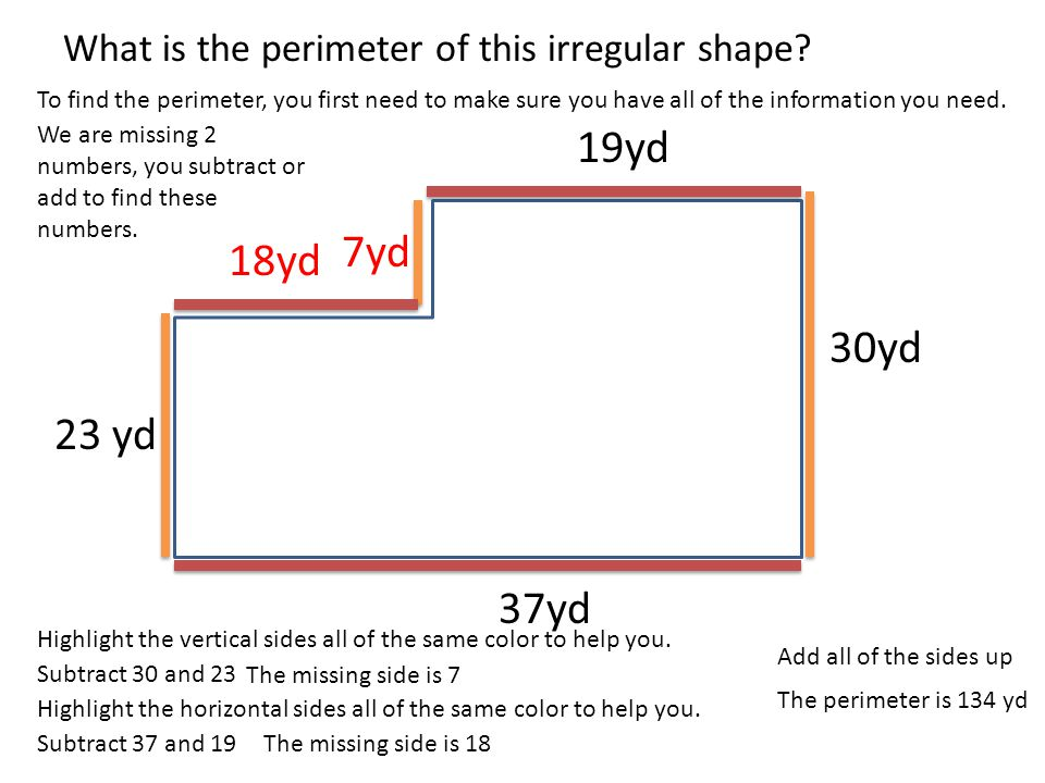 how to get the volume of an irregular shape