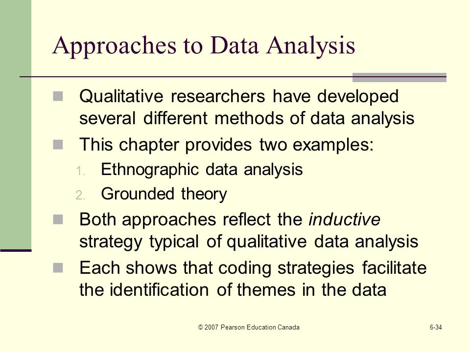 inductive analysis in qualitative research 23032015 this essay has critically assessed several methods of qualitative data analysis by  several qualitative research begin with an inductive approach.