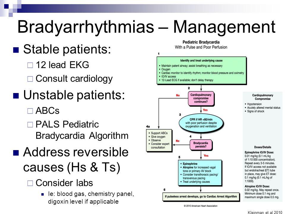 Bradycardia National P...
