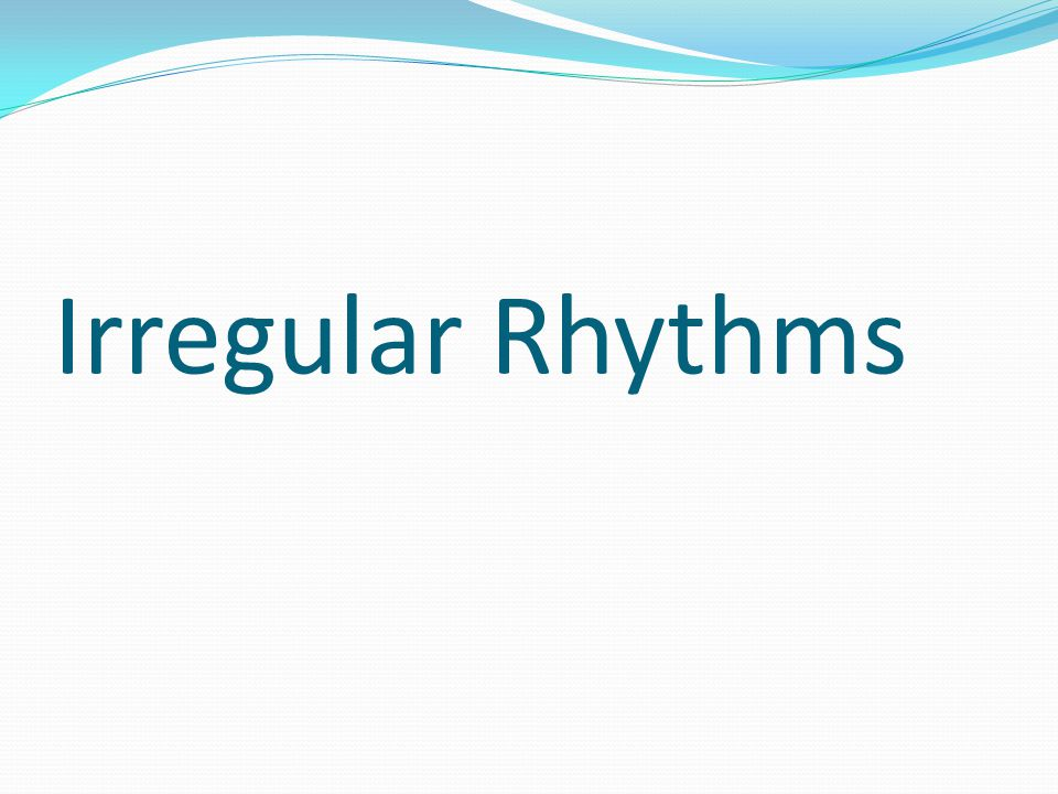 ECG Basics Module 2( Arrhythmias level 1) - ppt video ...
