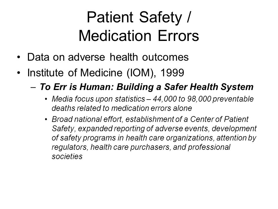 patient falls and medication errors Patient falls and medication errors continue to be leading incidents for nursing malpractice lawsuits identifying and implementing practices to improve patient safety is a priority in healthcare settings.