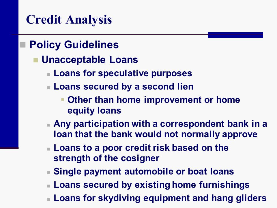 Evaluating Consumer Loans - ppt video online download