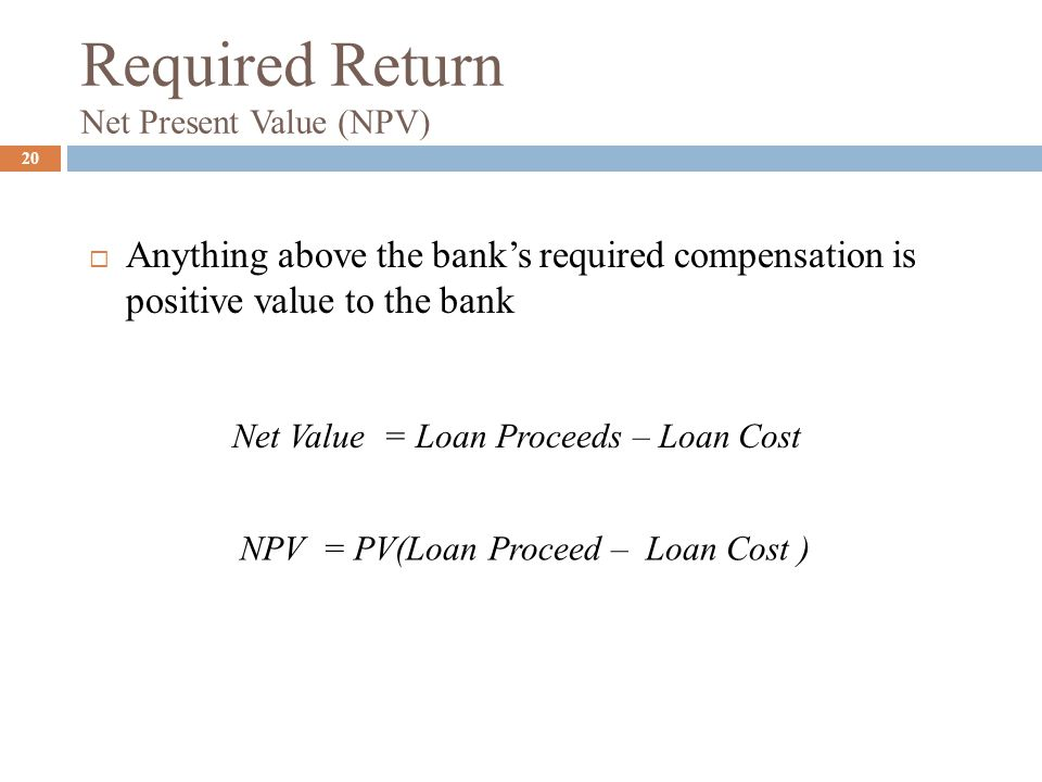 net present value (npv) payback essay Payback and npv methods: advantages and disadvantages 0 payback period calculation is perhaps the simplest ratio to evaluate net present value (npv).