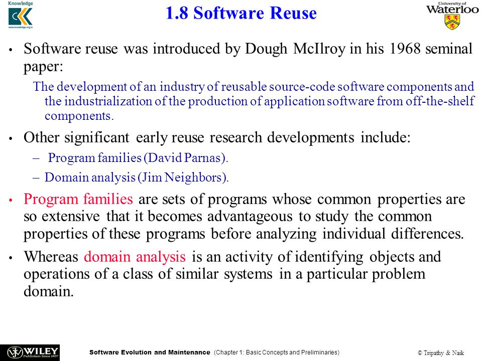 research paper software reuse Conclusion of the paper is described in ilroy [5] introduced the concept of reuse on the basis of section 5 software factory concept improving business performance often needs the method adopted for research improvement in their software development performance paradigm for research papers insertion: the papers.