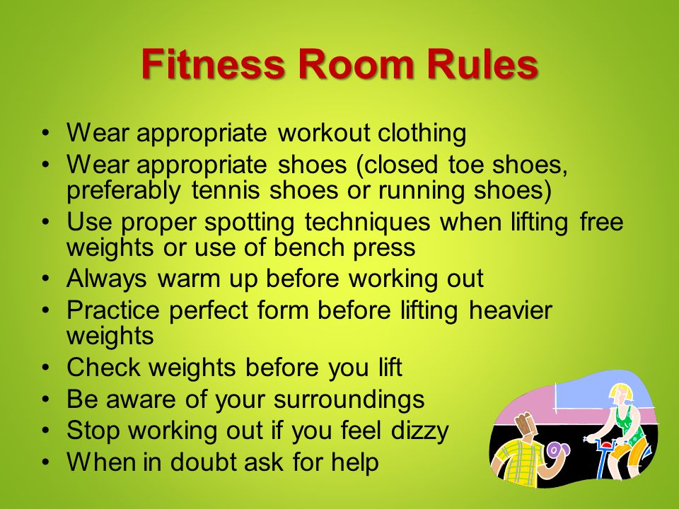 Introduction to Fitness Lesson #3: Workout Room ...
