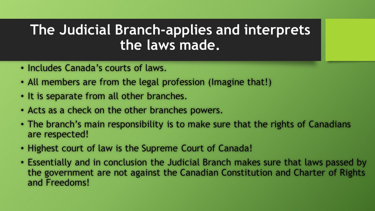 the main features of the canadian constitution and the supreme court of canada Justice systems in canada and the united states  same system and the supreme court of canada has the final authority throughout canada  the canadian .