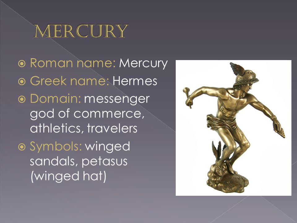 Hermes Messenger God Symbol | Ville du Muy