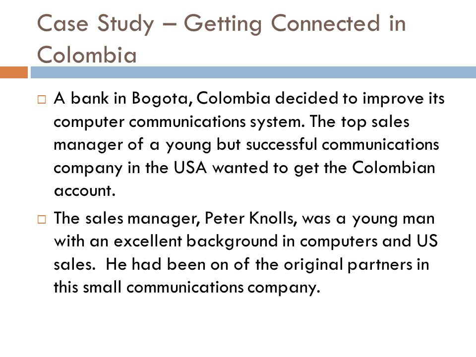 Communications in Colombia