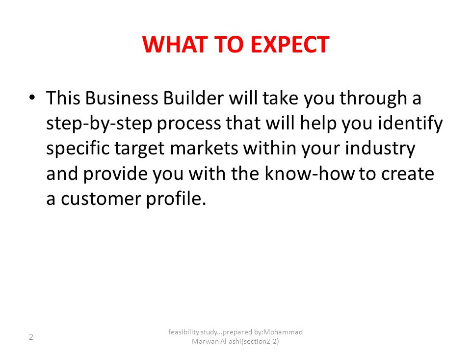 How To Identify A Target Market And Prepare A Customer Profile  Ppt