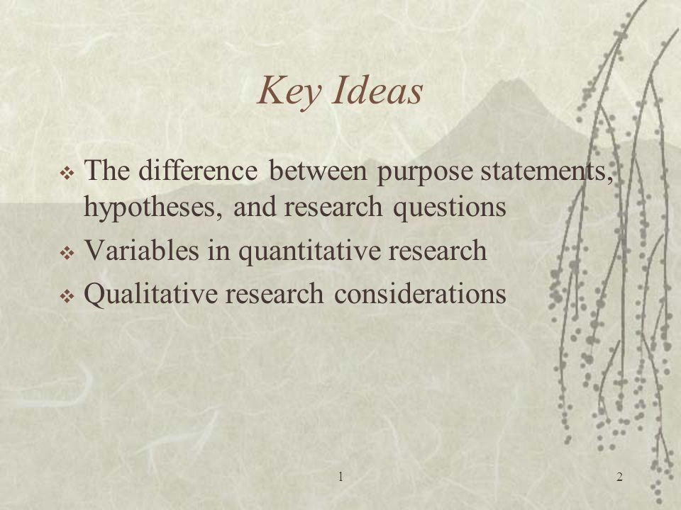 hypothesis quantitative research Research design and methodologymoses mutua introduction to research what is research what types of research exist what are th.