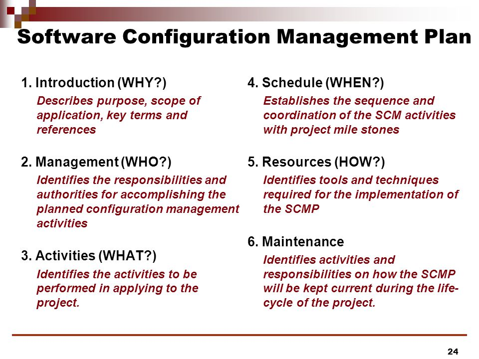 Csse 375 Software Construction And Evolution: Configuration