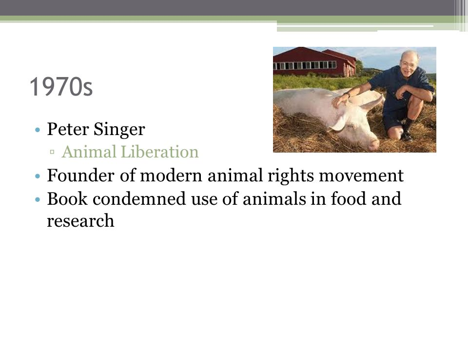 Peter Singer All Animals Are Equal Thesis Writing