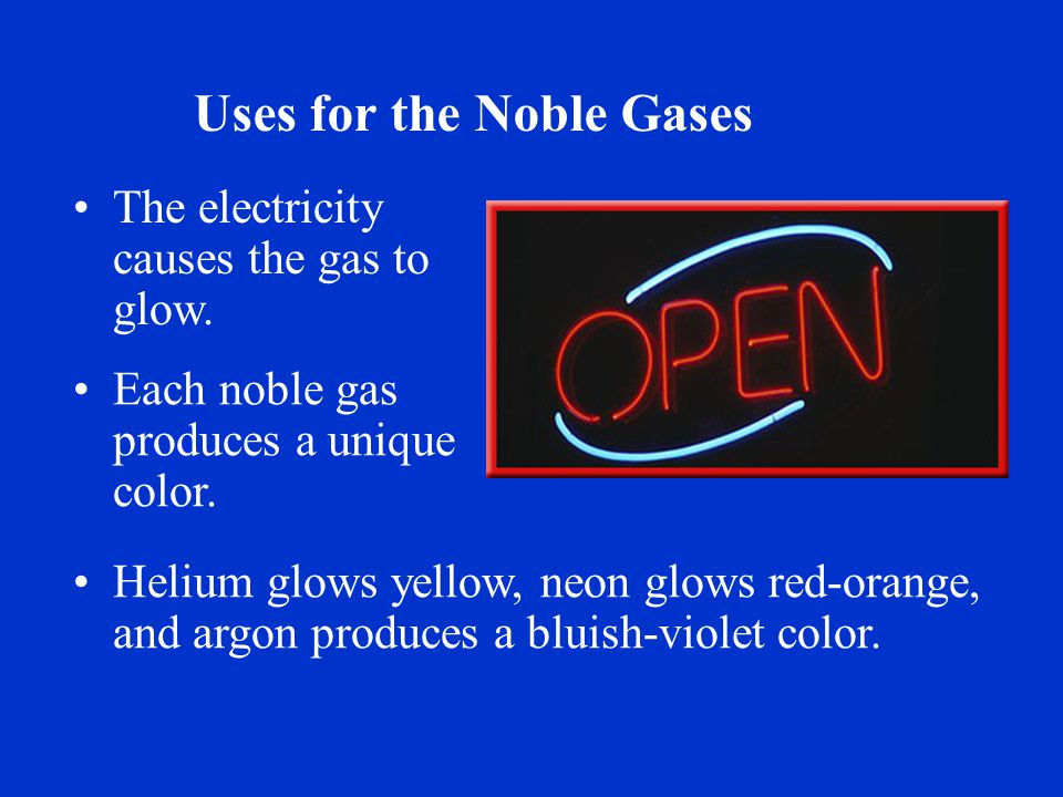 Noble Gases. - ppt video online download