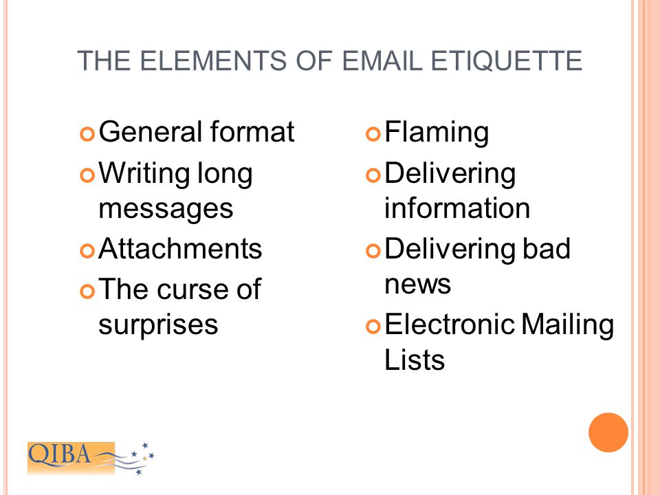 The essentials of e-mail and business writing