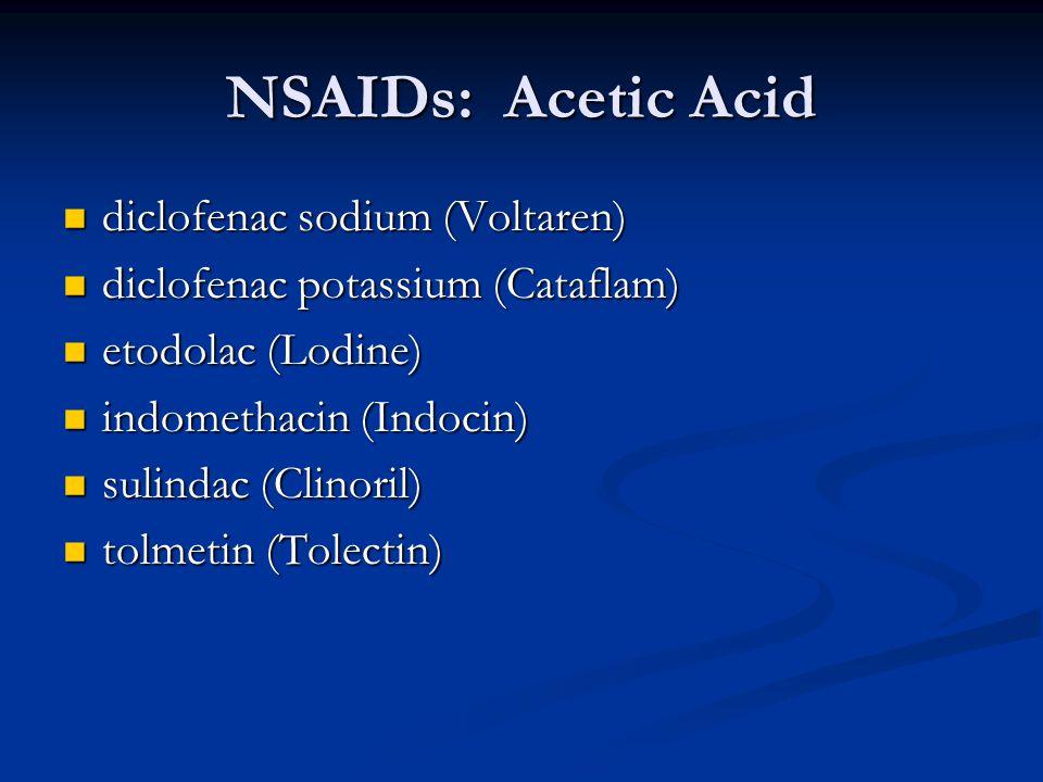 Classification of indocin