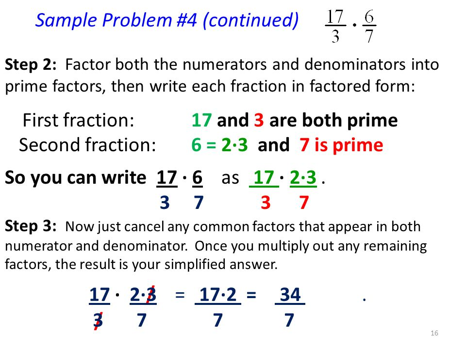 Sample Problem #4 (continued)