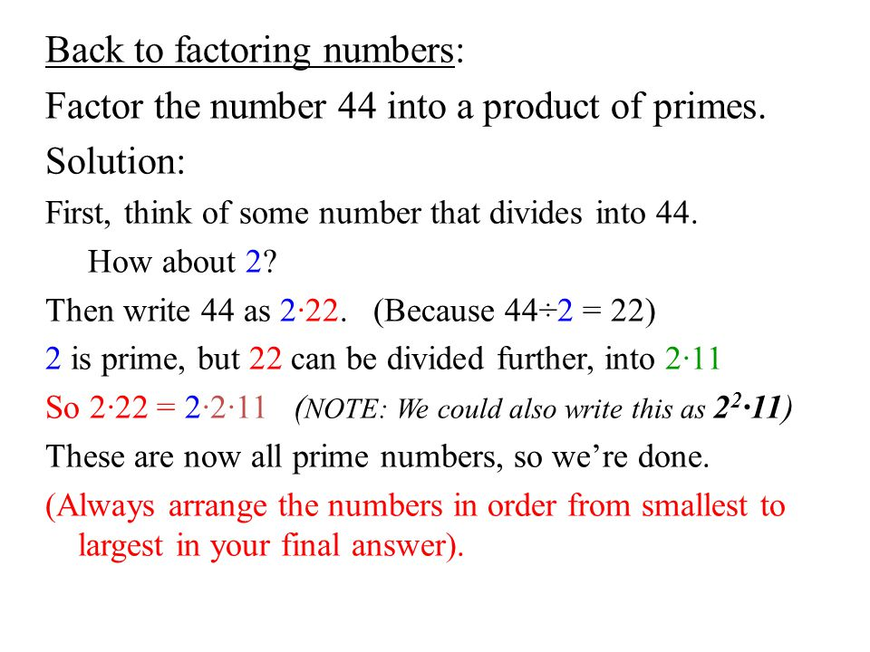 all prime numbers