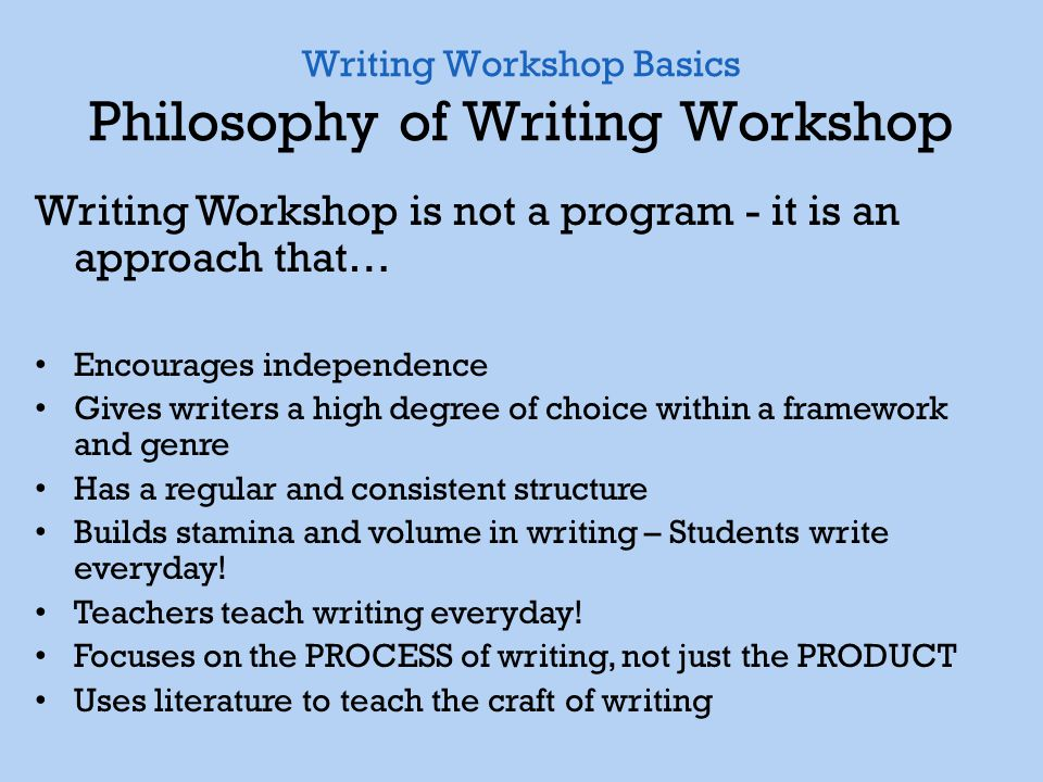 an introduction to the philosophy of writing by the writers By hal zina bennett, phd published by inner excerpts from the book the perennial philosophy: key spiritual principles chapter nine i am not speaking here of the creation of make-believe worlds so much as the writing techniques these writers use the key for.
