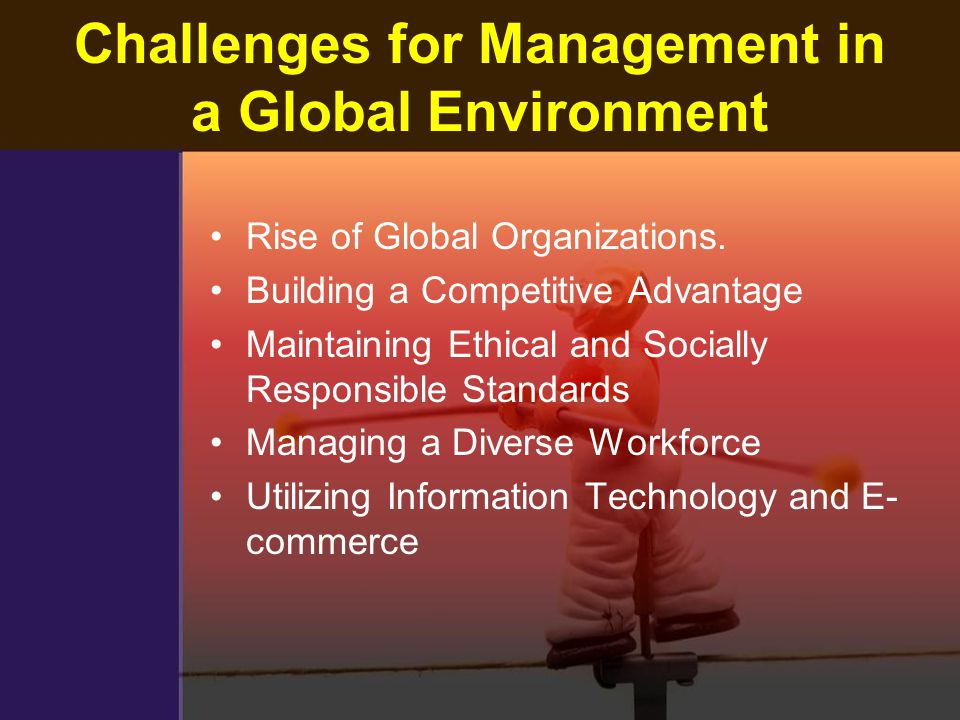 management challenges in competitive environment pdf