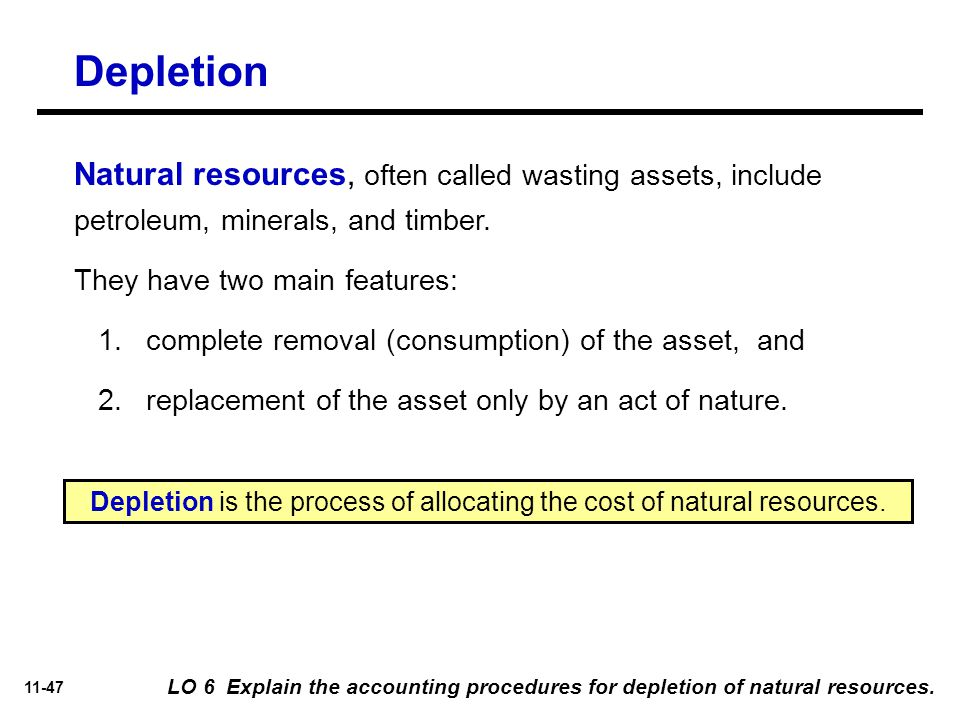 Companies Wasting Natural Resources