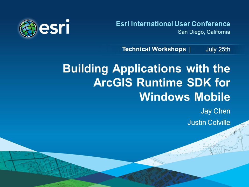 Building Applications with the ArcGIS Runtime SDK for Windows Mobile