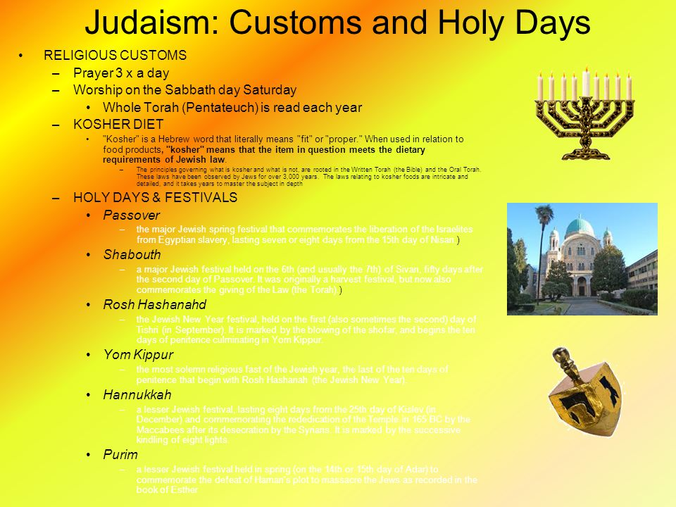 A overview of judaism as religion culture and tradition of the jews